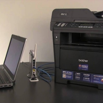 How to Connect your PC to a Network Brother Printer