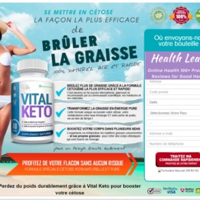Vital Keto France |Reviews |Where to buy|Scam |Side Effects|