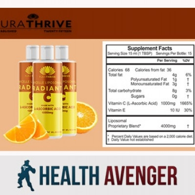 Whate are the ingredients used in PuraTHRIVE Liposomal Vitamin C?